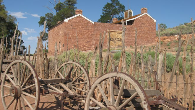 The old Mormon fort at Pipe Spring was known as Winsor Castle.
