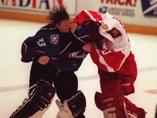 The rivalry had everything, including goalie fights