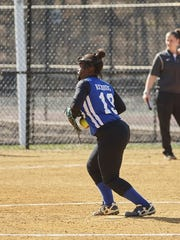 Bryonna Richburg was the winning pitcher in six of Mary Help's seven softball victories in 2018, as the Blue Jays posted their best record in a decade.