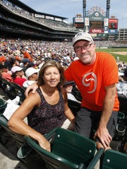 Kathy and Richard Verlander have made several trips to Detroit to watch their son, Justin, pitch for the Tigers.