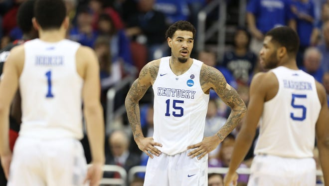 Willie Cauley-Stein is a veteran leader and a force in the middle for Kentucky.