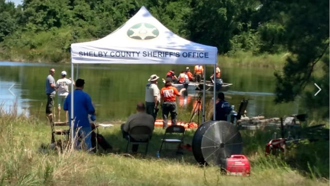 Investigators search for the body of teenage boy who was reported missing in a Collierville lake on June 4.