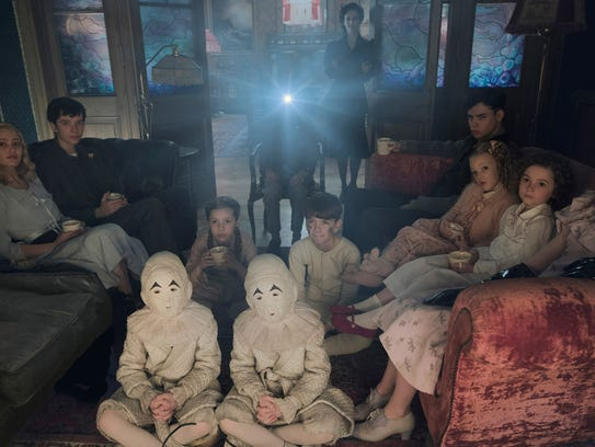 """Miss Peregrine's Home for Peculiar Children"" features"