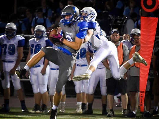 Cedar Crest dropped its first game of the season Friday night, falling to Cocalico, 55-6.