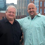 Greg Pogue, left, and Joe Dubin will bring back their sports talk radio show Monday. It will air 9-11 a.m. weekdays on WNSR 560-AM/95.9-FM
