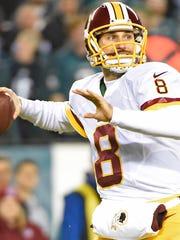 Washington Redskins and former MSU quarterback Kirk