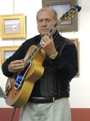 Jazz guitarist Tom Glenn performs in Collingswood Jan. 7.