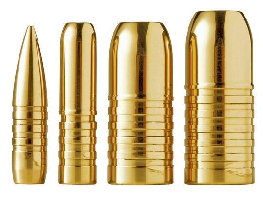 FILE PHOTO: Copper bullets.