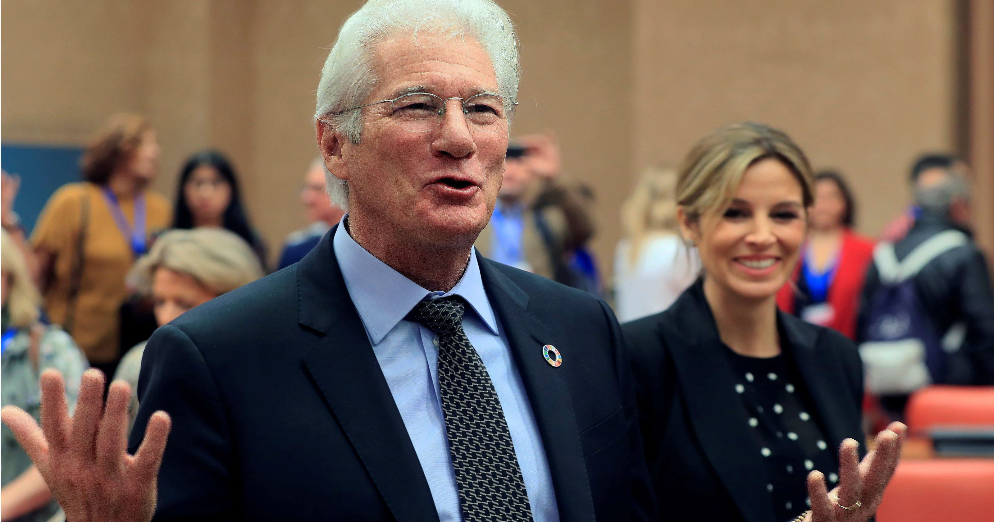 Richard Gere Welcomes Baby Boy At Age 69 With Wife