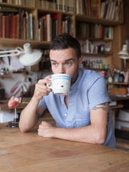 Author-illustrator Oliver Jeffers