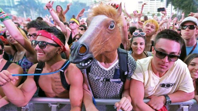 At the 2013 Ultra Music Festival in Miami.