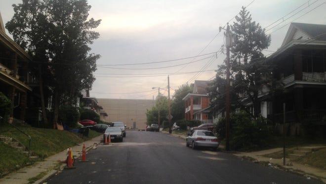 Two men were shot in the 500 block of Carplin Place Sunday morning.