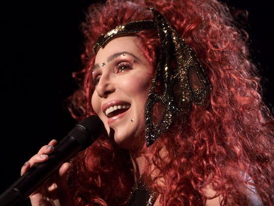 Cher in concert at the Breslin Center, Feb. 12, 2000.