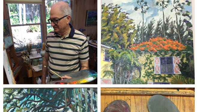 """James Johnson's """"Oils on Linen"""" will be among works presented Dec. 14through Jan. 18 atThe Lighthouse ArtCenter Gallery and School of Art, in Tequesta. The artwork exhibited will be those created by and collected in the residences of Jupiter Island."""