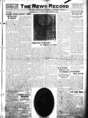 The Nov. 18, 1927 edition of The News-Record covered the unveiling of the Robert E. Lee marker on the Madison County Courthouse lawn.