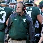 Coach Mark Dantonio says he's disappointed no Spartan has been named a player of the week by the Big Ten this season.