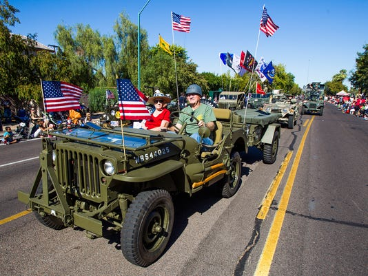 2014 Phoenix Veterans Day Parade