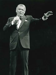 "Frank Sinatra played his first and final Bradley Center concert on Nov. 5, 1992. Shirley MacLaine was the opening act for ""Old Blue Eyes."""