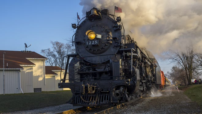 The Pere Marquette 1225 steam locomotive is the topic of a book honored by the Historical Society of Michigan.