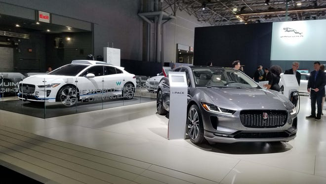 Ride-sharing company Waymo has ordered 20,000 of Jaguar's five-passenger I-Pace EV sedans for its self-driving fleet.
