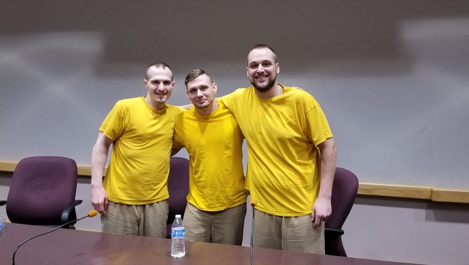 Three members of Dearborn County's Jail Chemical Addictions Program shared their experience in the program.