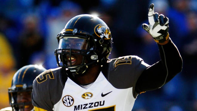 Missouri and wide receiver Dorial Green-Beckham (15) have two tough games ahead, starting today with Ole Miss, but winning them puts the Tigers in the SEC title game for a spot in the BCS.