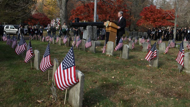 Honor military heroes past and present at the various Veterans Day parades and ceremonies.