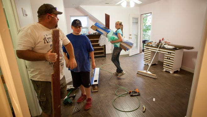 The 45-bedroom former home of FLDS leader Warren Jeffs is being remodeled for the Short Creek Dream Center. A tour was held Monday, April 30, 2018.