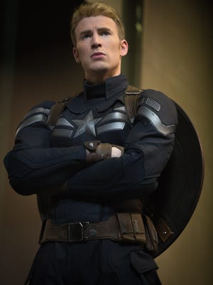 Chris Evans suits up as Captain America once again to face foes new and old in 'Captain America: The Winter Soldier.'