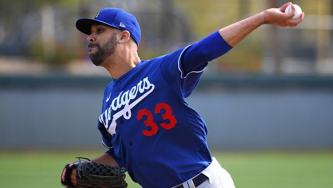 David Price's first start with the Dodgers now won't come until next season.
