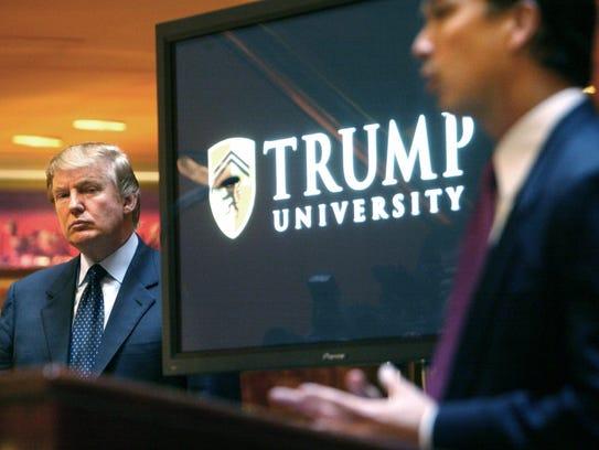 Donald Trump, aspirante republicano a la presidencia