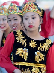 Tiffany Zheng (front), 15, and the New Gen dance group performed during last year's Indy Sister Cities Fest.