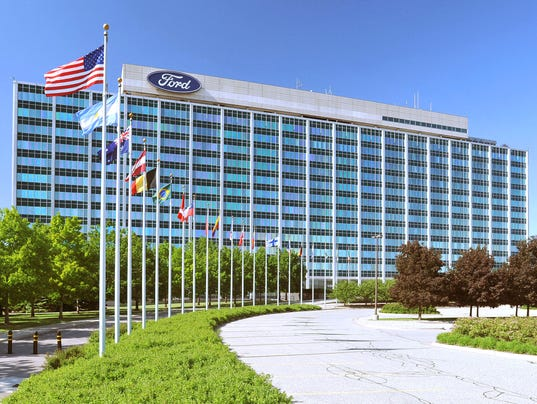 Ford shares plunge on investor day bad news for Ford motor company corporate office