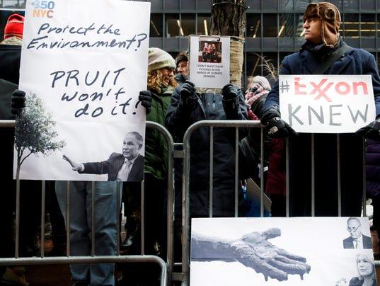 EPA USA POLITICS CLIMATE CHANGE RALLY ENV POLITICS ENVIRONMENTAL POLITICS USA NY