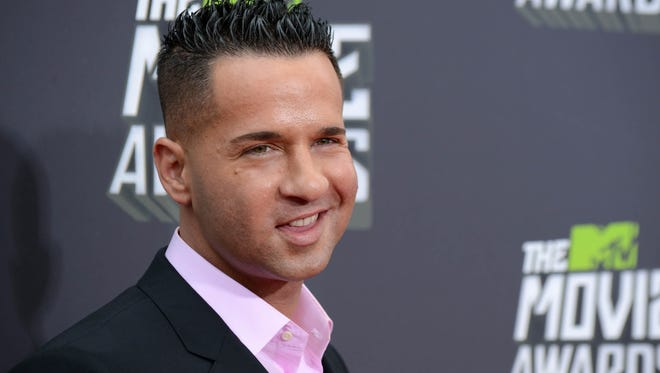 """TV personality Mike """"The Situation"""" Sorrentino."""