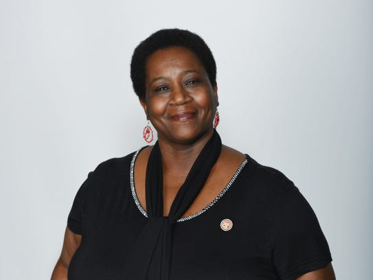 """""""African Americans hold the museum in high regard, she said. To wave Confederate battle flags around the museum is """"almost like desecration"""" - State Rep. Kathy Sykes"""