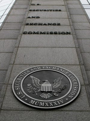 File photo taken in 2008 shows the Security and Exchange Commission's headquarters in Washington, D.C.