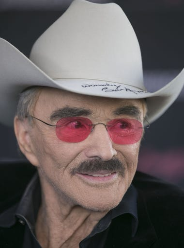 """Burt Reynolds talks about the experience of auctioning the 1977 Pontiac Firebird Trans Am """"Smokey and the Bandit"""" Promo Car at Barrett-Jackson in Scottsdale, AZ on January 30, 2016."""