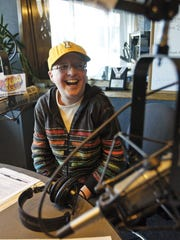 KIOA morning show co-host Pam Dixon lets out a laugh