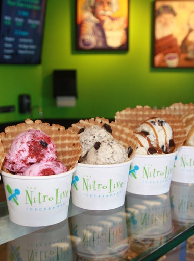 """<strong>NITRO LIVE ICECREAMERY:&nbsp;</strong>As of mid-January, the Gilbert location of Nitro Live Icecreamery closed its doors at&nbsp;884 W. Warner Road in Gilbert. A new location in Queen Creek will open in March. In the meantime, check the&nbsp;<a href=""""https://www.facebook.com/nitroliveicecreamery/"""">Nitro Live Ice Creamery Facebook page</a>&nbsp;for information about pop-up events.&nbsp;"""