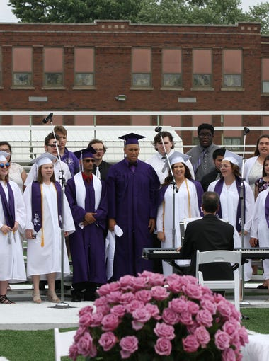 Fremont Ross' High School commencement ceremony was held Sunday, June 3, 2018.