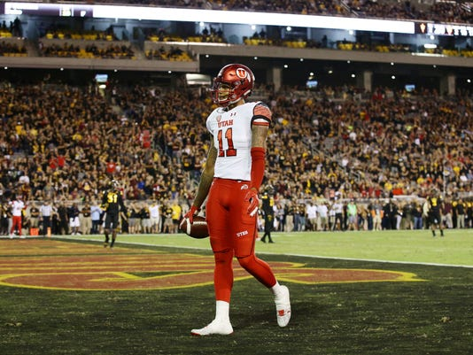 Utah wide receiver Raelon Singleton