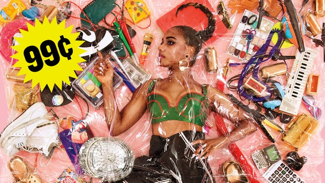 """""""I talk about how artists are like products,"""" Santigold says of her new album, '99 Cents.'"""