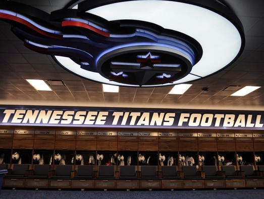 Titans Locker Room Nashville