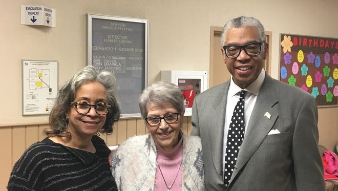 From left, Lisa Cobbs, Sharon Korhenen and Bill Cobbs. Bill received a heart from organ donor Ronnie Korhonen after he died in 2011 at the age of 32. Bill is photographed with Lisa, his wife and Sharon, mother of Ronnie Korhonen.