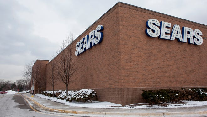 Sears pictured Wednesday, Jan. 13, 2015 in Fort Gratiot. Sears will be closing in March.