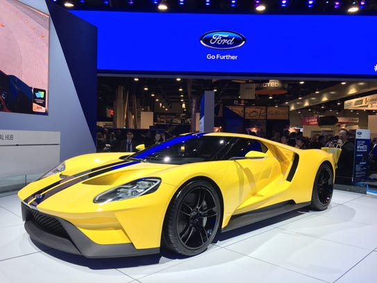 Tech or no-tech, the Ford GT - the official car of