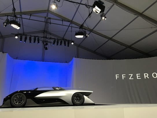 Faraday Future unveiling its electric race car prototype