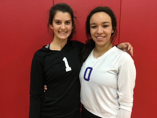Olivia Mady (left) and Divna Roi have been together