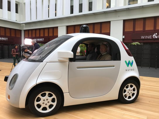 Google has renamed its eight-year self driving car
